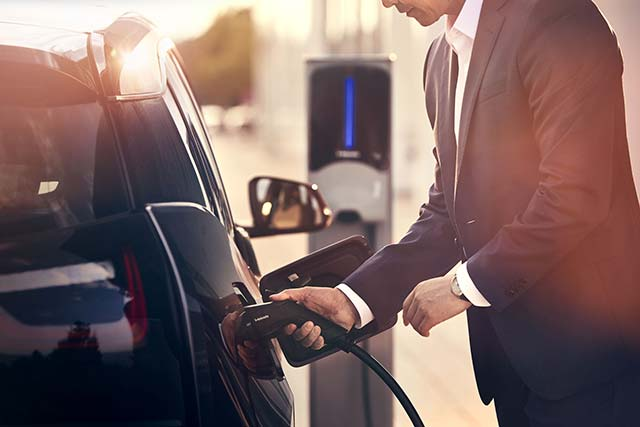 EV charging for work and business